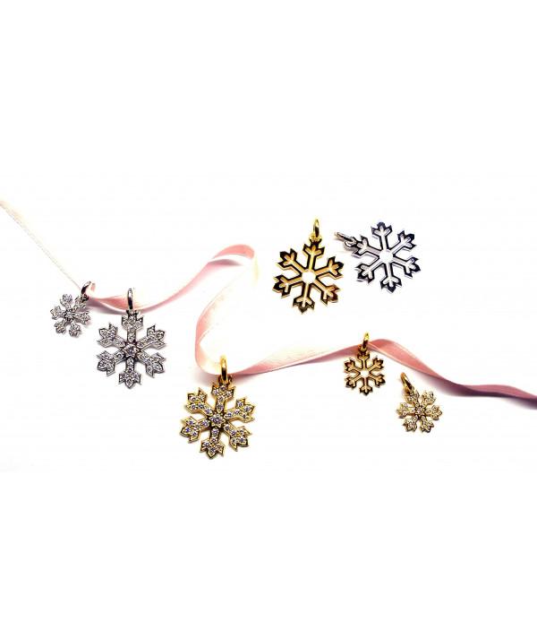 Bijoux pendentifs cristal de neige JOLY-POTTUZ MEGEVE