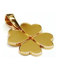 pendentif trefle bijouterie Joly-pottuz Megève
