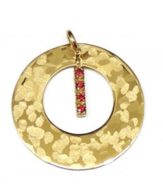CERCLES D'OR 4 RUBIS