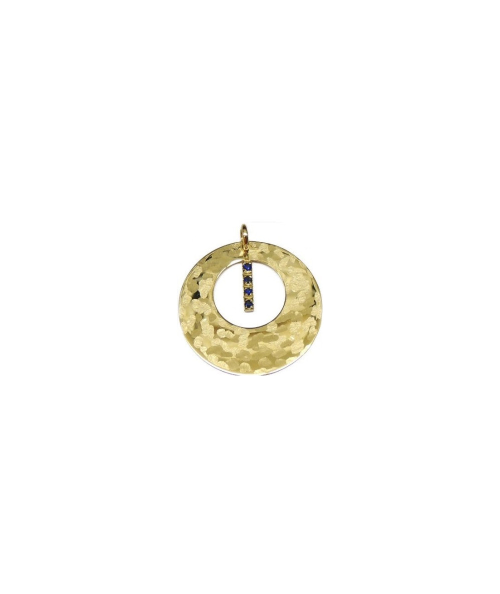 CERCLE D'OR 4 SAPHIRS