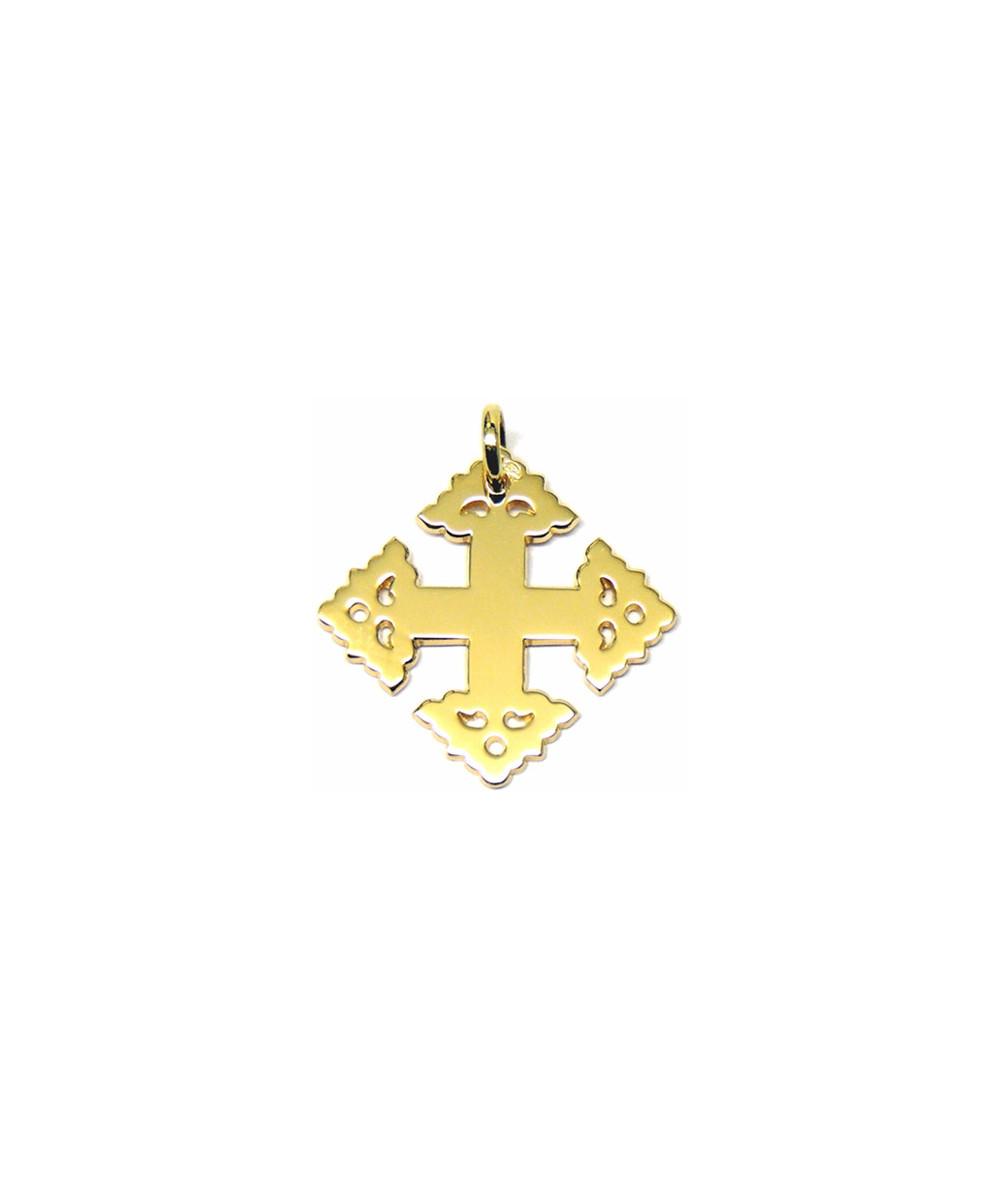 Croix- Megève -lisse -2cm - JOLY-POTTUZ- Megève