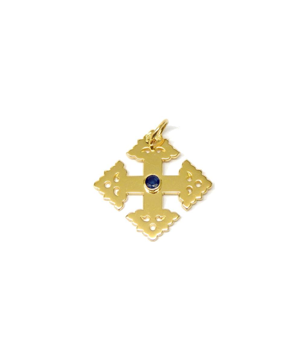 Croix -Megève-2cm-saphir-Joly-pottuz