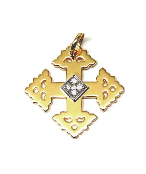 Croix de Megève carré sagesse Joly-pottuz