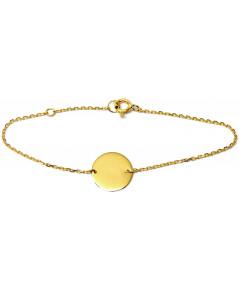 bracelet jeton personnalisable or 750 joly-pottuz Megève (1)