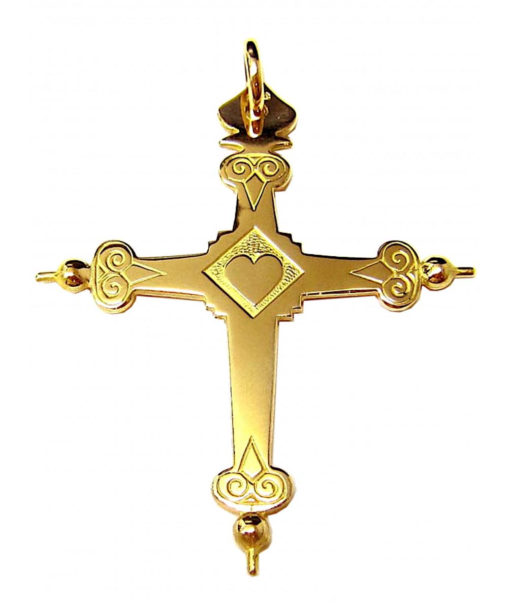 Croix de Savoie Joly-pottuz bijoutier Megève 6cm