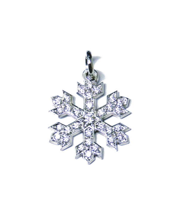 Pendentif Cristal de neige Joly-pottuz Bijoutier Megève