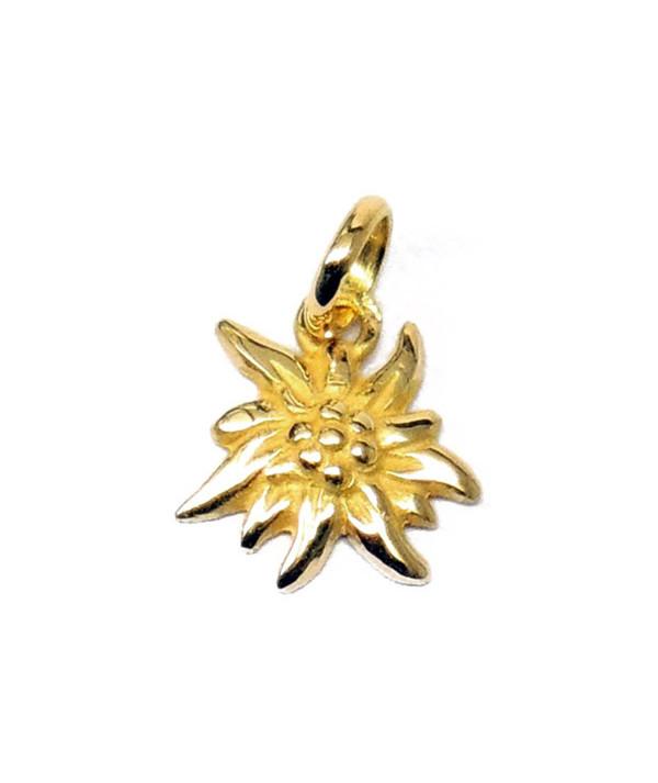 Pendentif Edelweiss 1 cm Joly-Pottuz bijoutier Megève