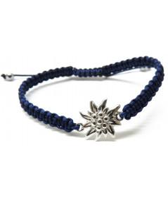 Bracelet Cordon tressé  Edelweiss Megève