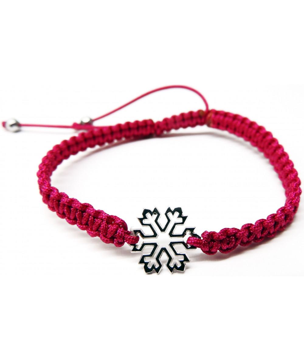 bracelet cristal de neige cordon bijouterie JOLY-POTTUZ Megève