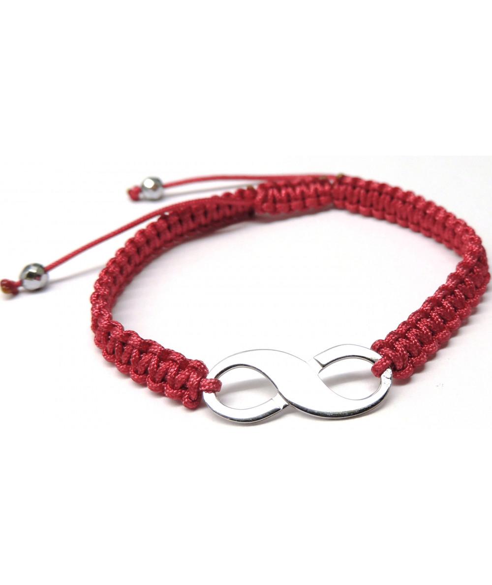 Bracelet signe infini bijouterie joly-pottuz Megève france