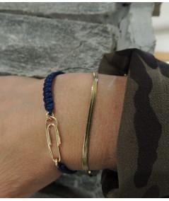 Bracelet trombone pour homme ou femme bijouterie joly-pottuz Megève