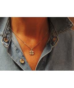 pendentif trèfle en coeurs bijouterie Joly-pottuz Megève