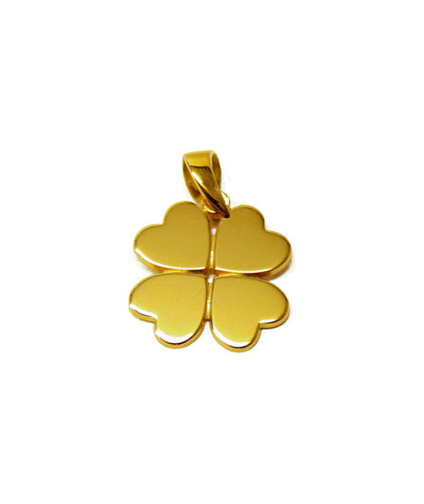 Pendentif Trèfle bijouterie Joly-pottuz Megève